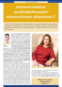 LIEČBA VITAMINOM C (infúzie, lipozomalne)