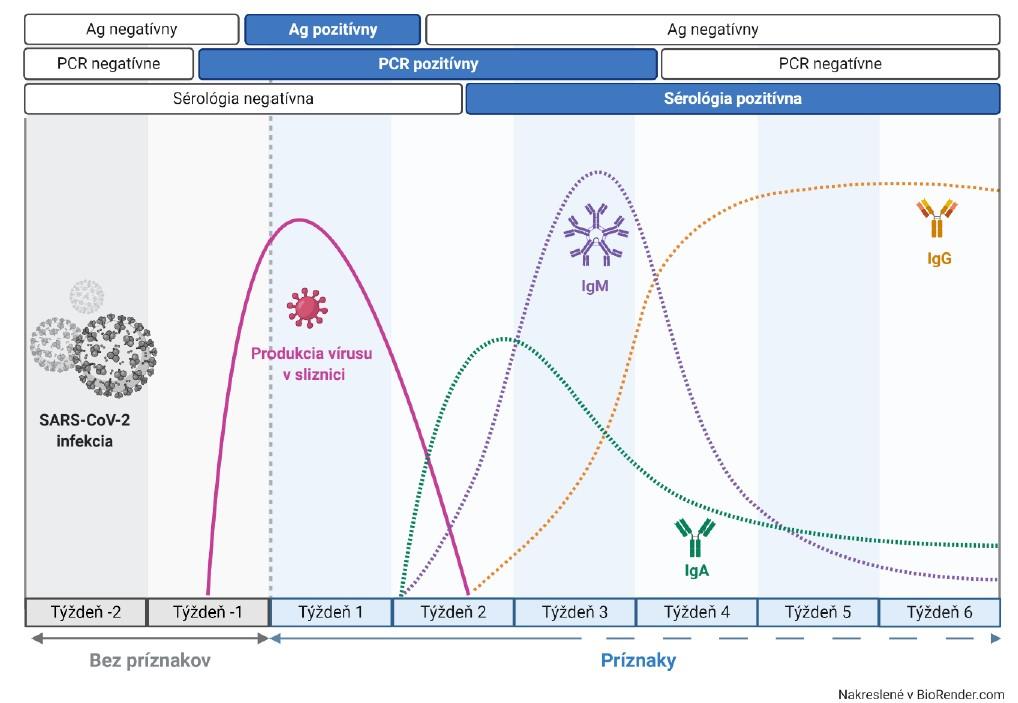 Obrázok 1. Pravdepodobnosť záchytu niektorých laboratórnych ukazovateľov počas Covid-19