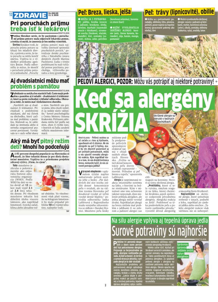 Peľová sezóna je tu. Lekár: O pár rokov bude alergik každý druhý! - pluska.sk